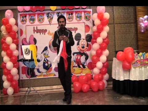 Birthday Party Magic Show